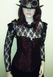 Steampunk Lace Top & Corset