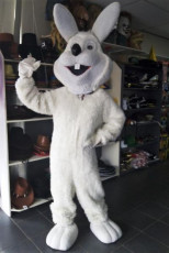White Superior Easter Bunny