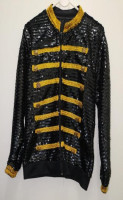 Micheal Jackson jacket (Black/Gold)