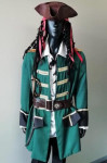Green Pirate Costume