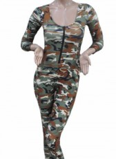 Ladies Army Camo Overall