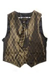 Bronze and Black Steampunk / 1920 Waistcoat