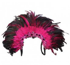 Carnival Wings Pink and Black Large