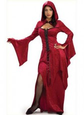 Crimson Hooded Maiden