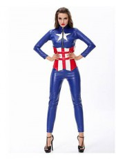 Leather Captain America Lady