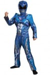 Deluxe Blue Kids Power Ranger