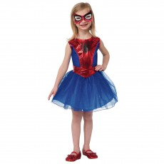 Girls Spidergirl Costume
