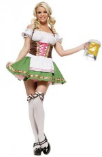 Octoberfest Green Beermaid