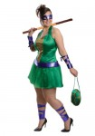 Plus Size Ninja Turtle Lady