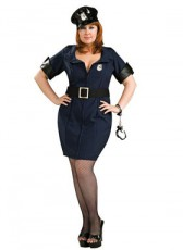 Police Lady Plus Size