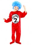 Thing 1 / Thing 2 kids Costume