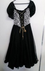 Cruella Deville Girls Dress
