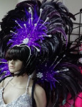 Purple Headpiece and Wings