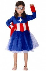 Girls Captain America