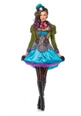 Green Mad Hatter Lady - Plus size