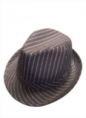 Striped Mafia Hat